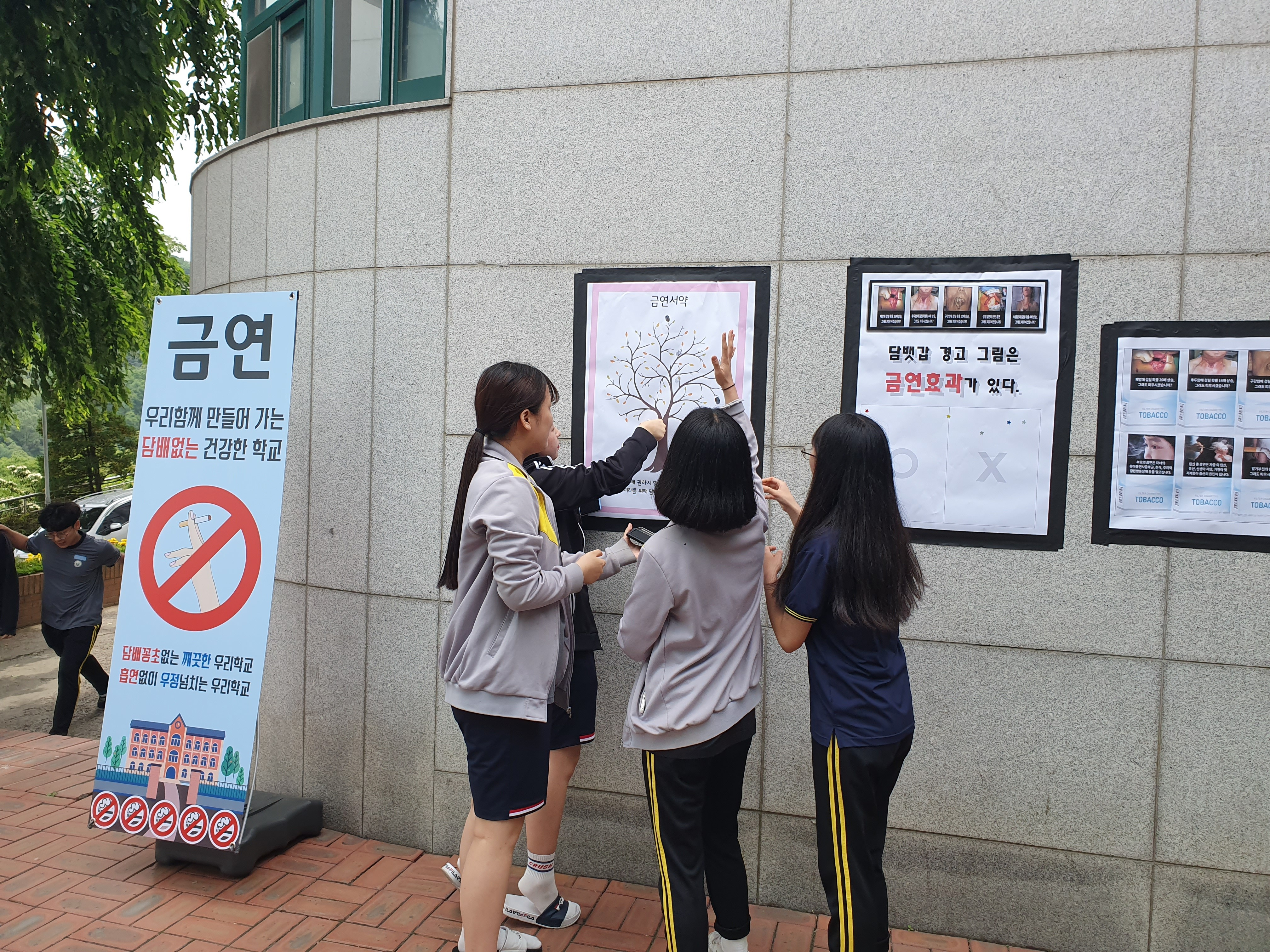 2019 세계 금연의 날 금연캠페인 활동